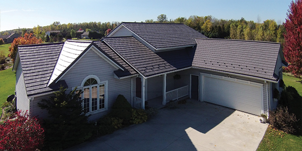 Our Beautiful Oxford Shingle product on a contemporary home in Raleigh NC